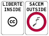 Liberté inside, SACEM outside